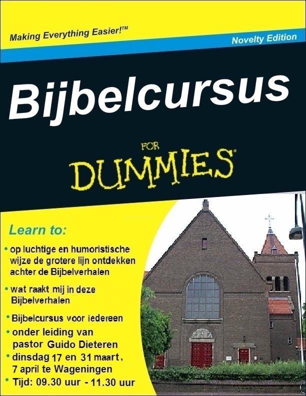 Bijbelcursus voor dummies