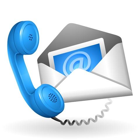 Telefoon en e-mail